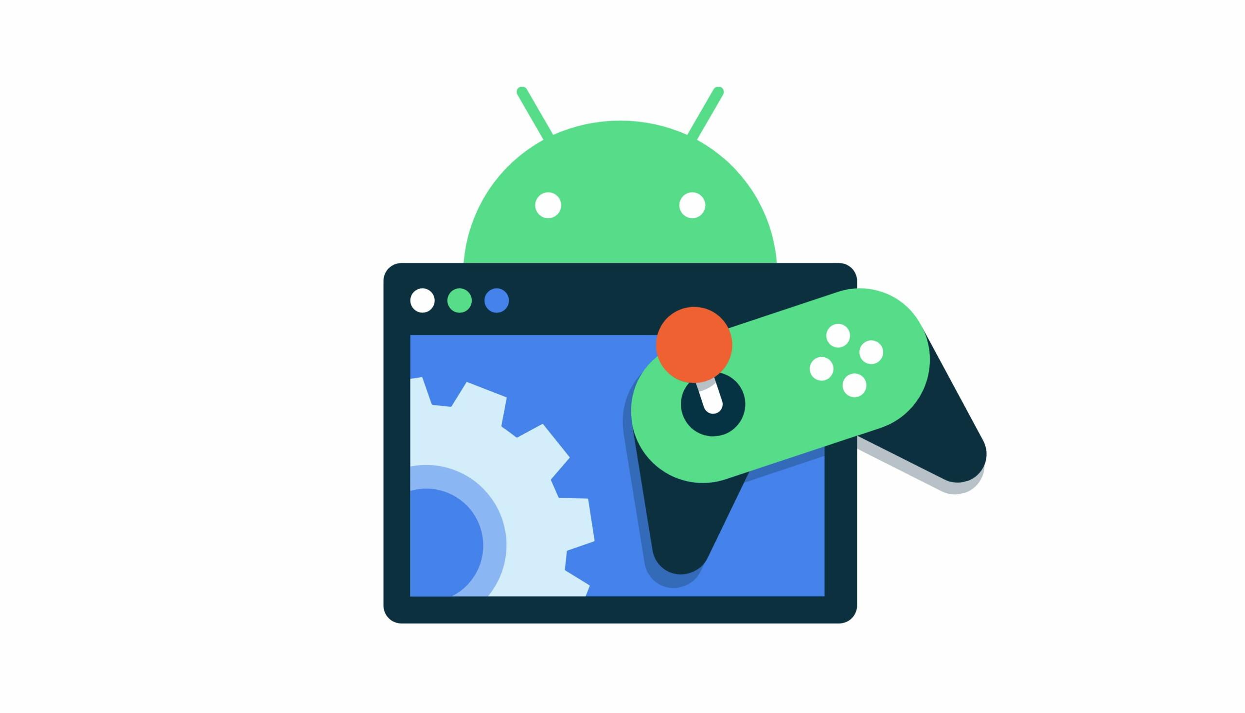 Android12: Game Dashboard, jouer en téléchargeant, Game Development Kit, Google met le paquet sur le jeu vidéo