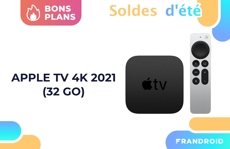 Amazon profite des soldes pour baisser le prix de la nouvelle Apple TV 4K