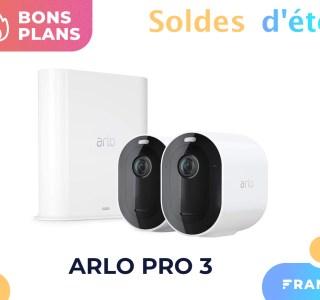 Le prix du pack de 2 caméras Arlo Pro 3 profite de 42% de réduction pour les soldes