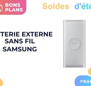 La batterie externe sans fil de Samsung ne coûte que 5,49 € pendant les soldes