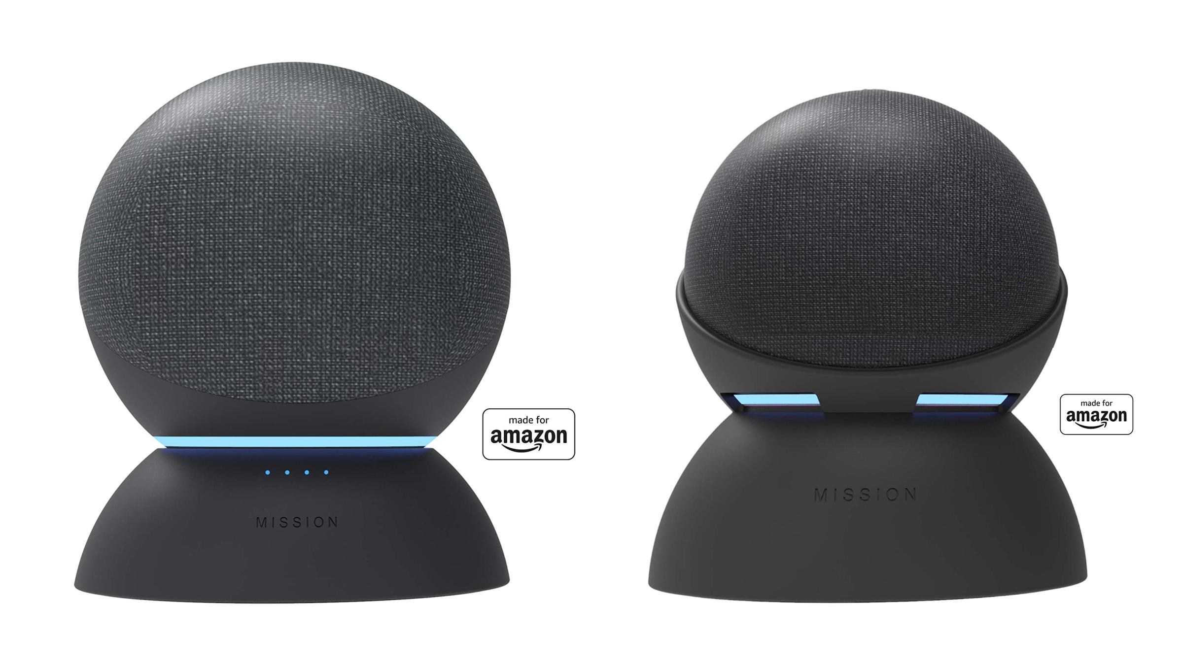 Les Amazon Echo et Echo Dot peuvent désormais fonctionner sur batterie