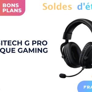 Le Logitech G Pro est un bon casque gaming, moins cher pendant les soldes