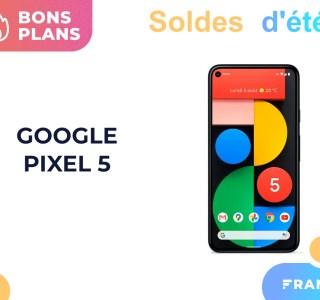 Soldes 2021 : le Google Pixel 5 est de retour en promotion chez Fnac, Darty et Boulanger