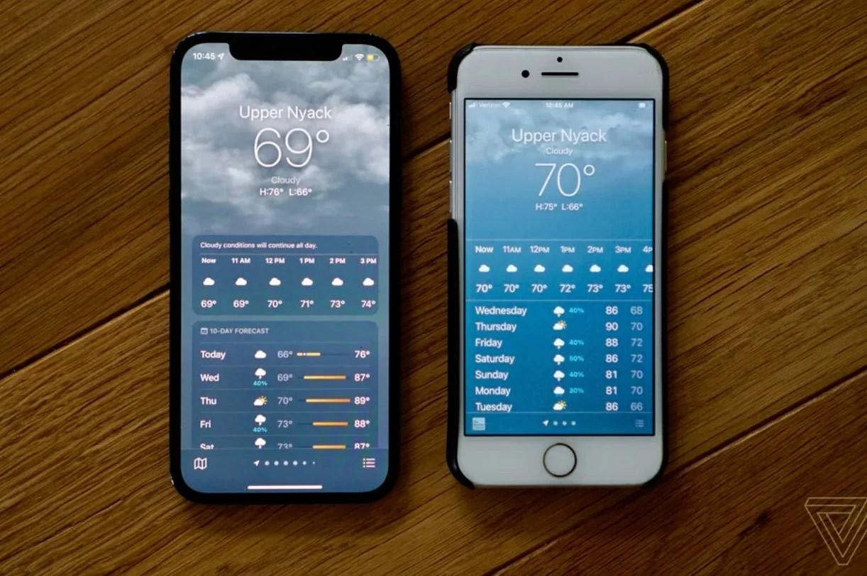 Apple trop prude ? Sous iOS 14.6, l'appli météo n'affiche pas 69 degrés
