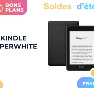 Amazon casse le prix de sa liseuse Kindle Paperwhite pour les soldes