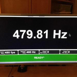 Oubliez les écrans 360 Hz, LG penserait déjà très sérieusement au 480 Hz