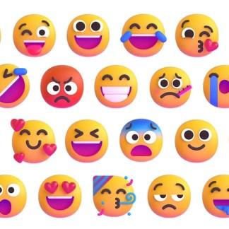 Windows, Teams, Office ... Berikut adalah ikhtisar dari 1800 emoji baru yang akan muncul di akhir tahun