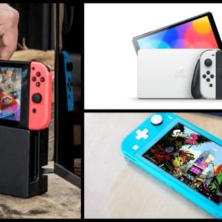 Nintendo Switch OLED vs Switch classique et Lite: laquelle est faite pour vous?