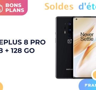 Pour la fin des soldes, le OnePlus 8 Pro est moins cher sur Amazon (-33%)