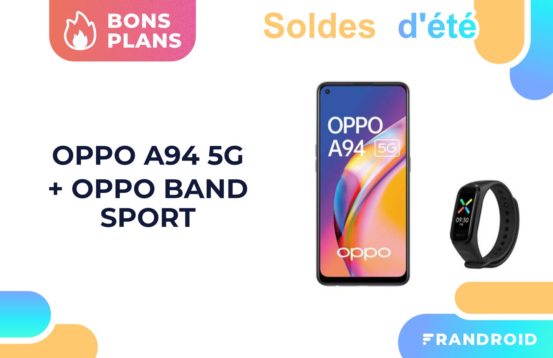 Oppo A94 : un bon smartphone 5G avec un prix en baisse pour les soldes (et un cadeau offert)