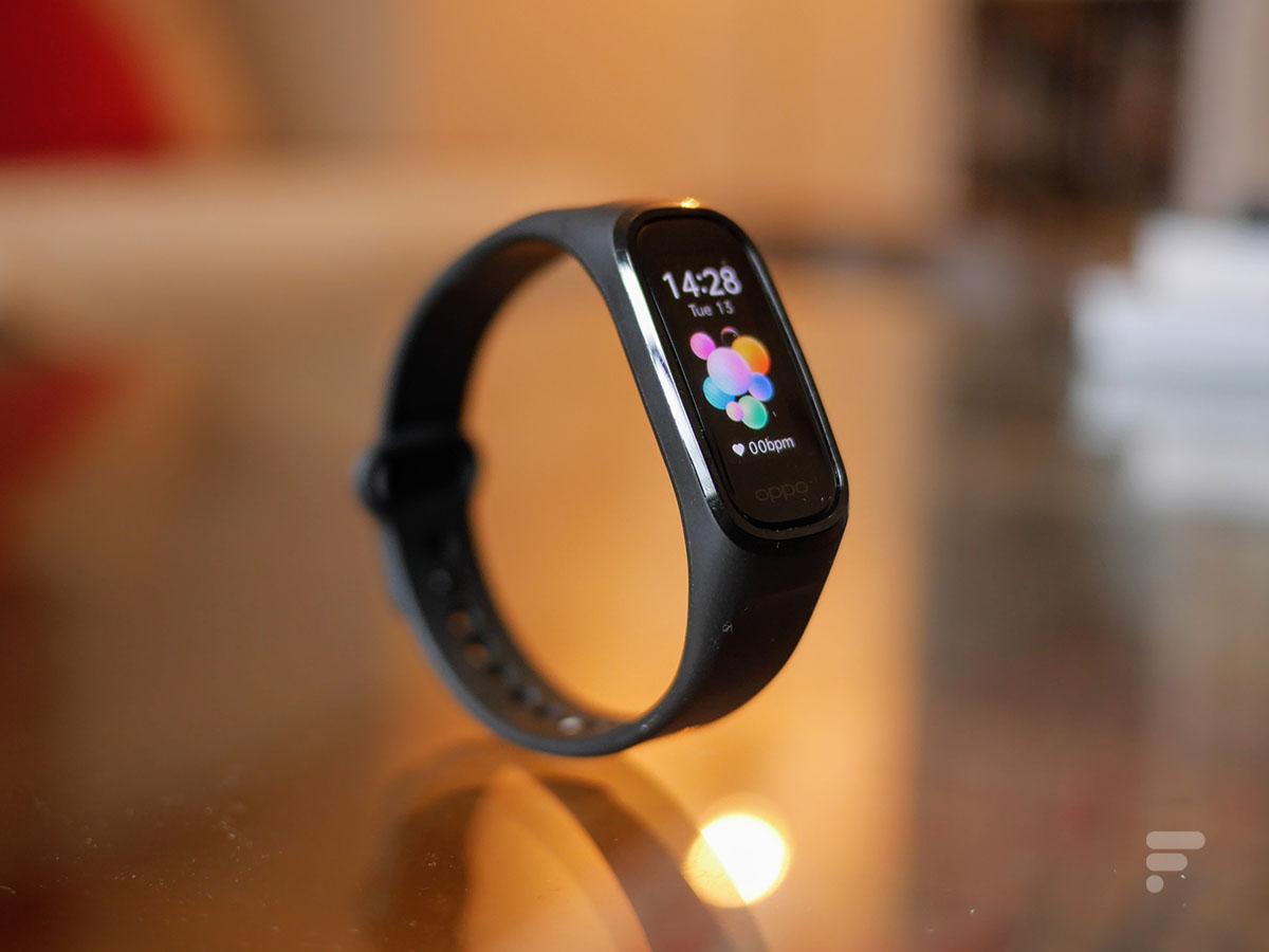 Test de l'Oppo Band Style : un bracelet basique, mais efficace
