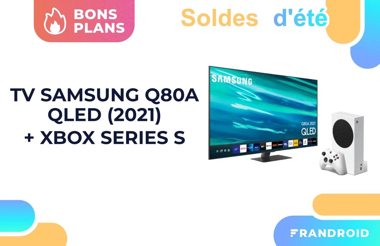 Soldes : ce pack TV QLED Samsung + Xbox Series S est à prix canon