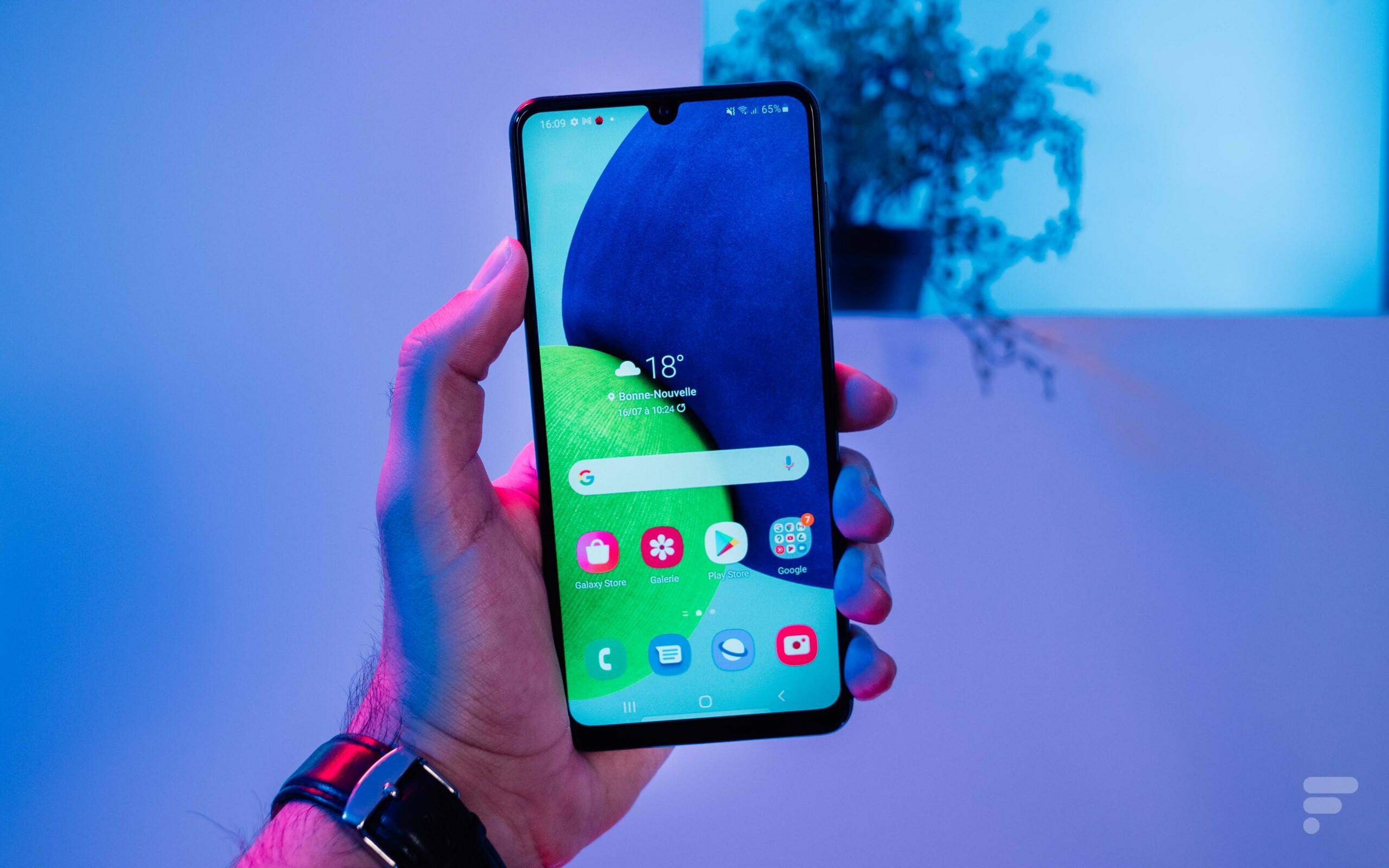 Test du Samsung Galaxy A22 : à la fois fiable et fébrile