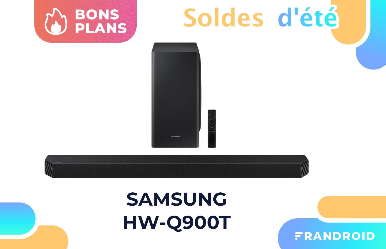 La très bonne barre de son Samsung HW-Q900T est actuellement soldée à -30 %
