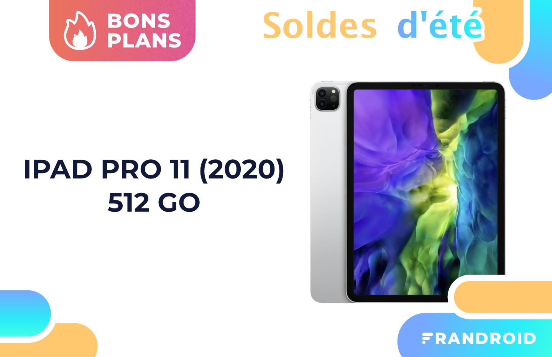 L'iPad Pro 11″ 2020 dans sa version 512 Go est à -29 % pendant les soldes
