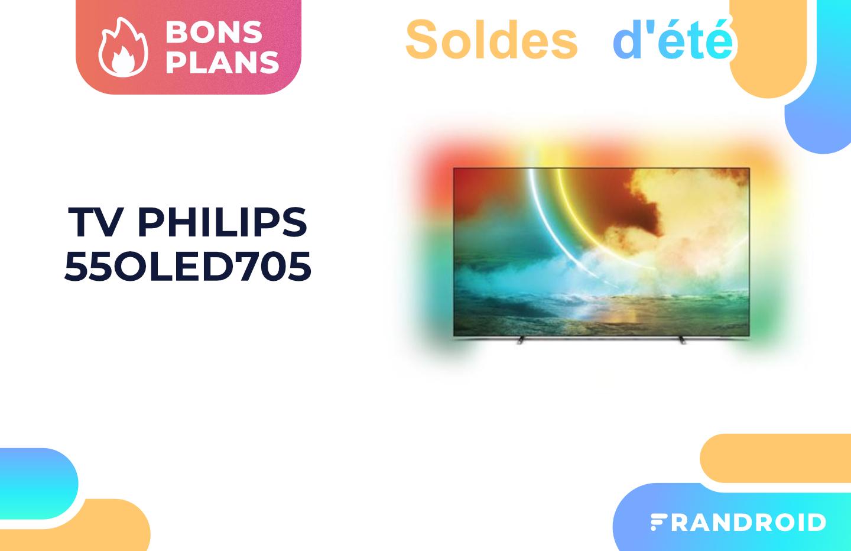Le TV OLED 55 pouces de Philips chute à 999 € pendant les soldes