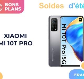 Le modèle 256 Go du Xiaomi Mi 10T Pro est à un excellent prix pour les soldes