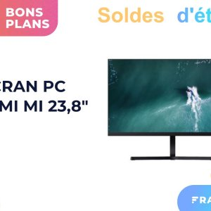Pas cher, cet écran Xiaomi 24″ pour PC (60 Hz, 6 ms) n'est qu'à 119 €