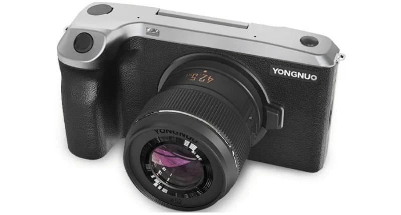 Cet appareil photo hybride ultra-fin tourne sous Android