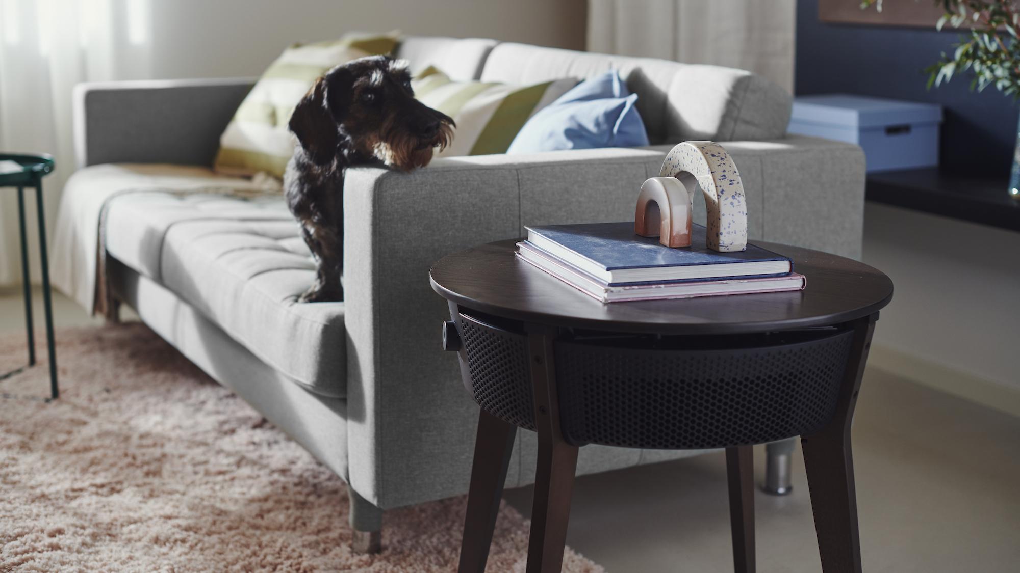 Ikea lance un purificateur d'air aux airs de table d'appoint