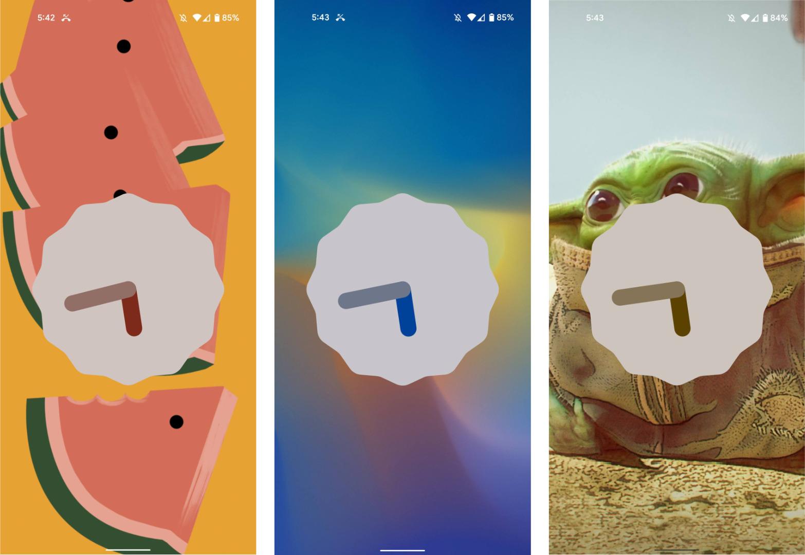 Voici l'Easter egg d'Android 12 à la sauce Material You