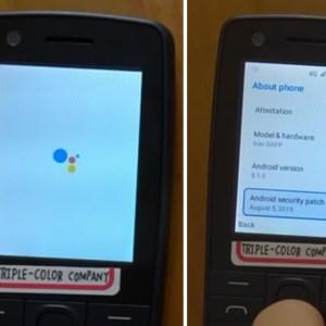 Voici ce à quoi aurait pu ressembler Android sur un téléphone classique