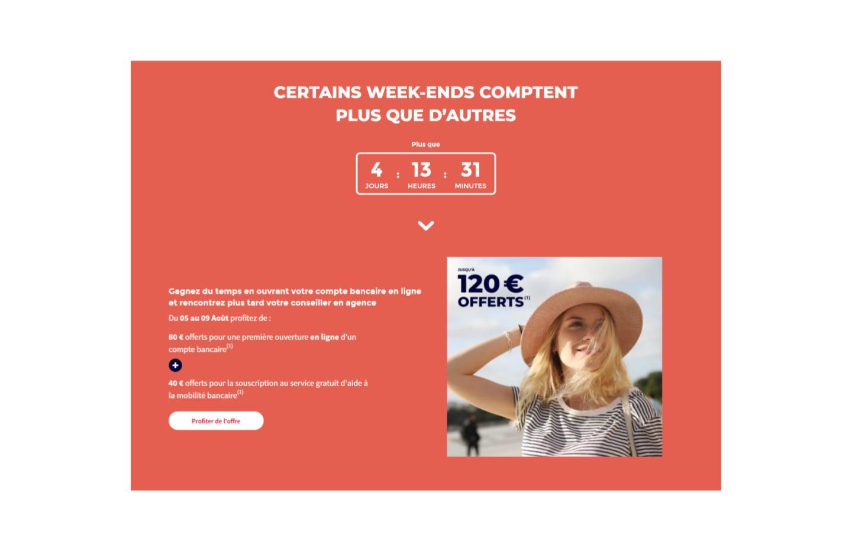 La Société Générale offre jusqu'à 120 euros pour l'ouverture d'un compte Sobrio
