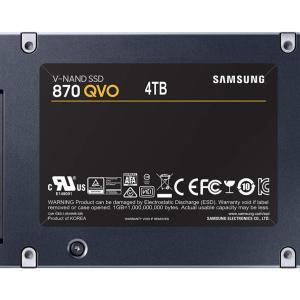 À moins de 300 €, le rapport capacité-prix du SSD Samsung 870 QVO 4 To est imbattable