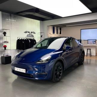 La Tesla Model Y est en France: où la voir et quand l'essayer?