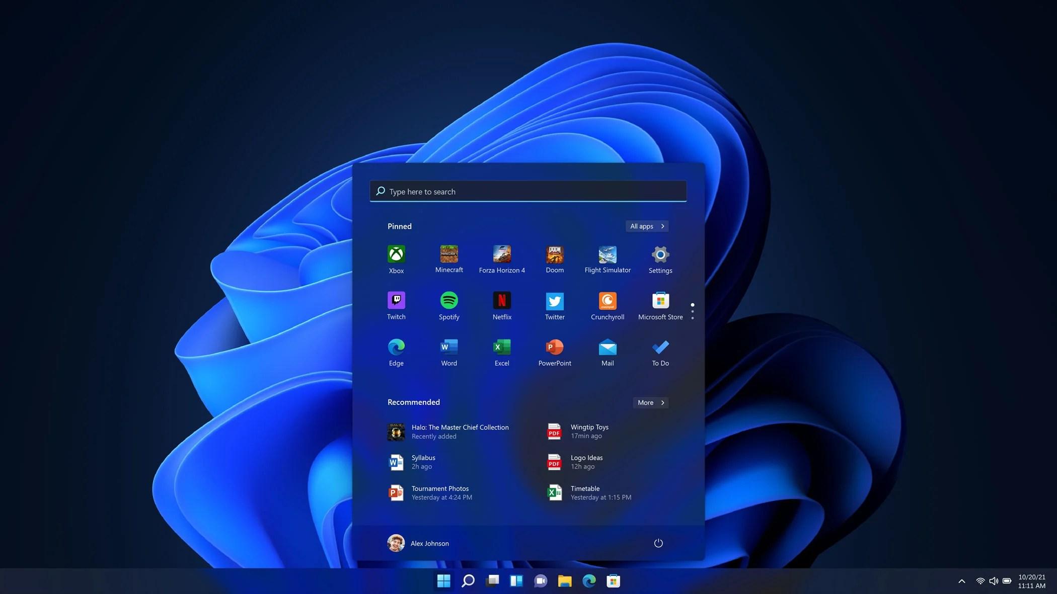 Comment supprimer les recommandations du menu Démarrer de Windows 11 ?