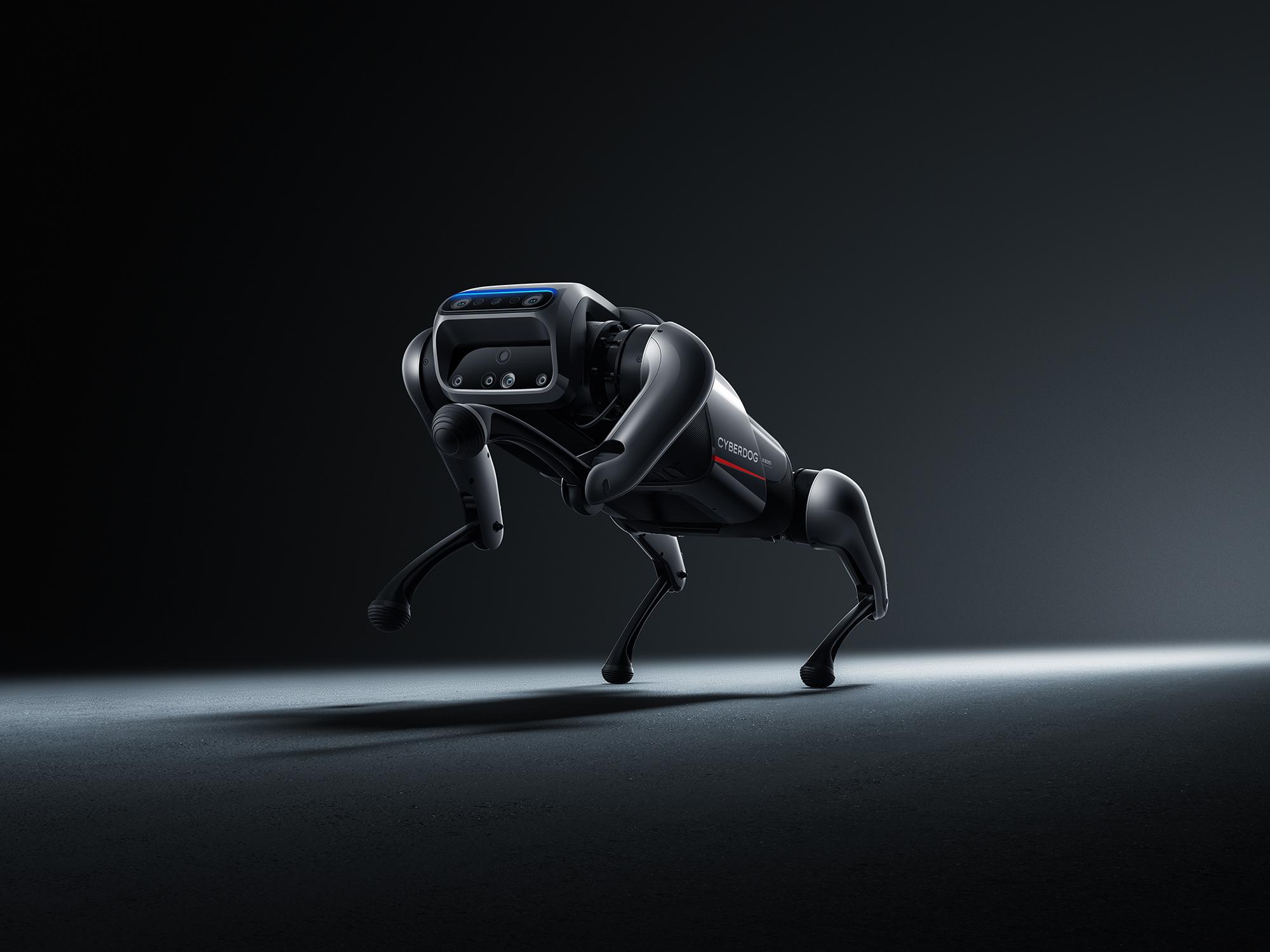 Xiaomi CyberDog : c'est un robot, c'est un chien, c'est un chien-robot !