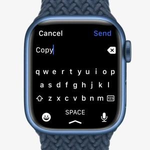 Pourquoi le clavier de l'Apple Watch Series 7 fait déjà polémique