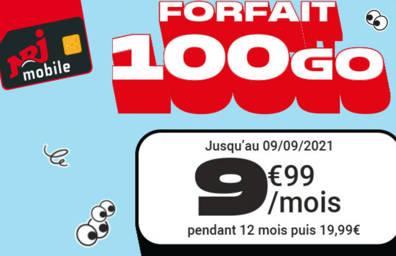 Forfait mobile: Encore 4 jours pour profiter de 100 Go de 4G pour 9,99 euros/ mois