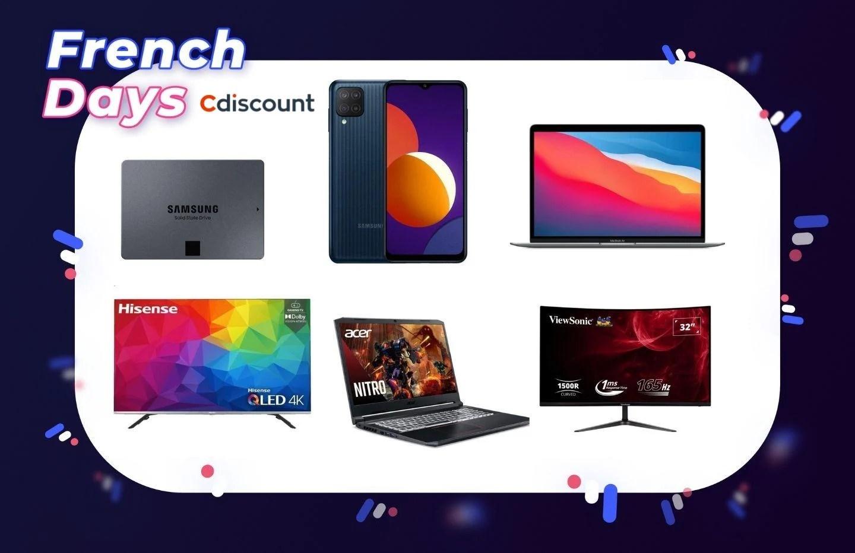 French Days 2021 : retrouvez les meilleures offres tech chez Cdiscount