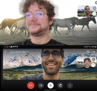 Google Meet : faites le clown aussi sur Android en changeant votre arrière-plan