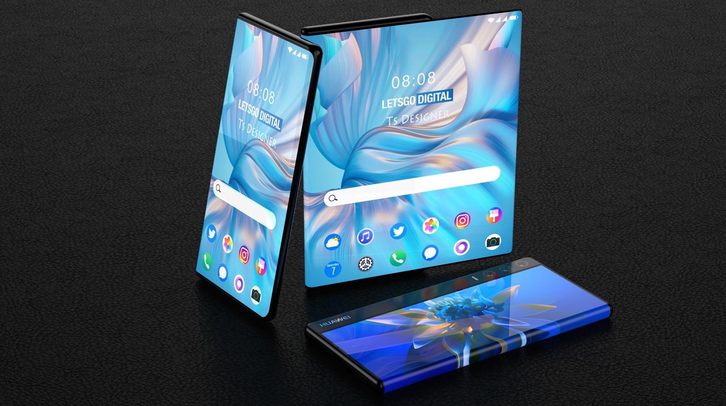 Huawei voudrait dérouler une tablette de 11 pouces avec un smartphone
