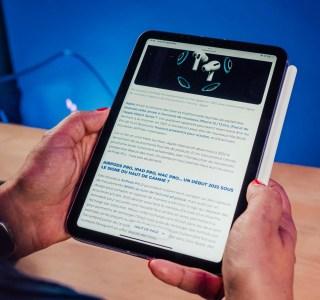 iPad mini 6 : pourquoi il vaut mieux l'utiliser en mode paysage