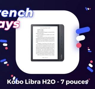 Fnac fait une exception pendant les French Days et baisse le prix de sa liseuse étanche