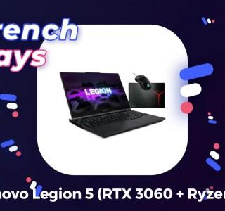 PC portable : le combo RTX 3060 + Ryzen 5 est à 979 € pour les French Days