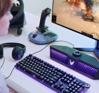 LG lance une mini barre de son avec micro intégré pour le jeu sur PC