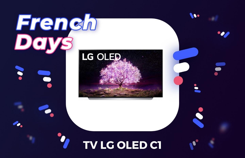Les French Days offrent jusqu'à 1500 € de remise sur la gamme TV LG OLED C1