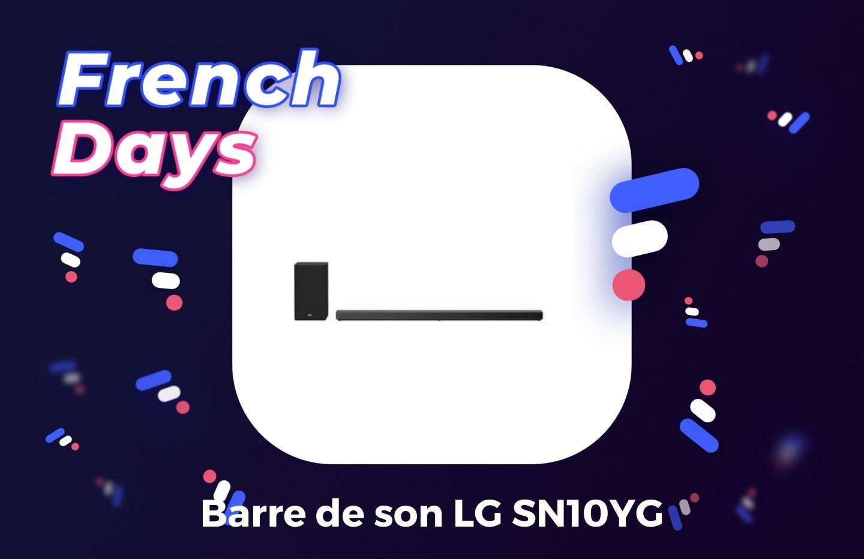 Compatible Dolby Atmos, cette barre de son premium LG est à -50 % pendant les French Days
