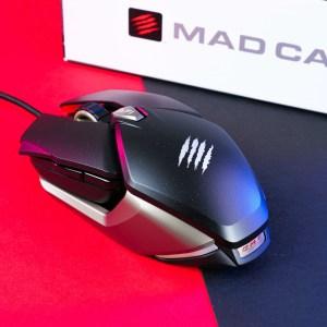 Test de la Mad Catz B.A.T. 6+ : une souris ambidextre et modulable