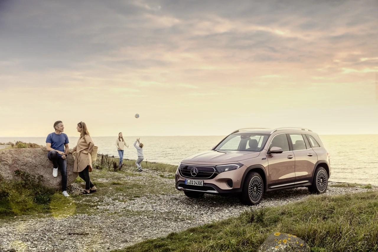 Mercedes EQB officialisé : un SUV électrique compact mais spacieux qui s'attaque au Tesla Model Y