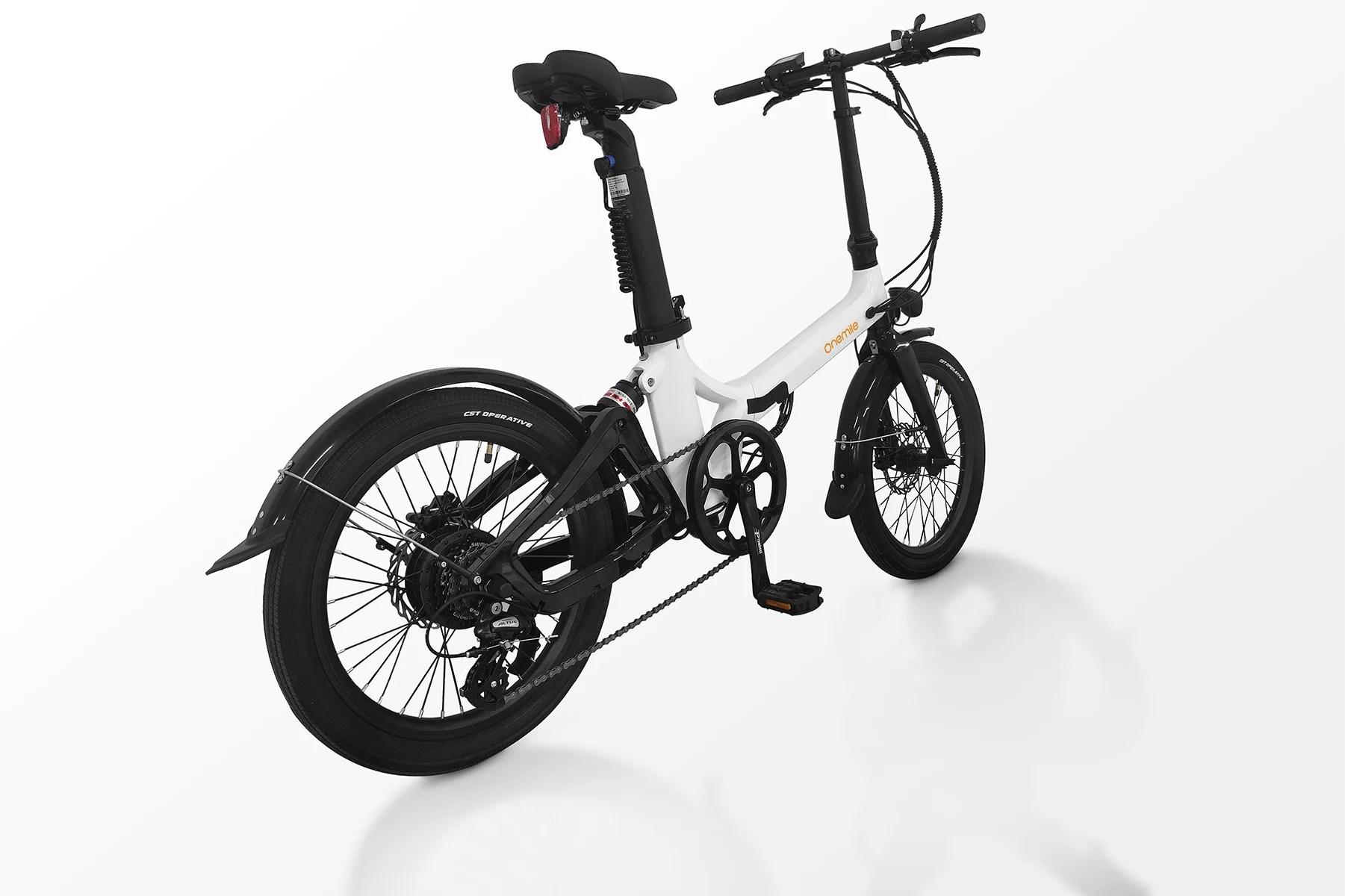 OneMile Nomad, ce vélo électrique pliant qui promet jusqu'à 100 km d'autonomie
