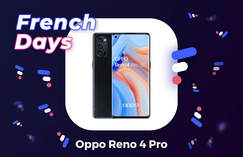 Le Oppo Reno 4 Pro profite des French Days pour s'afficher à -50 %