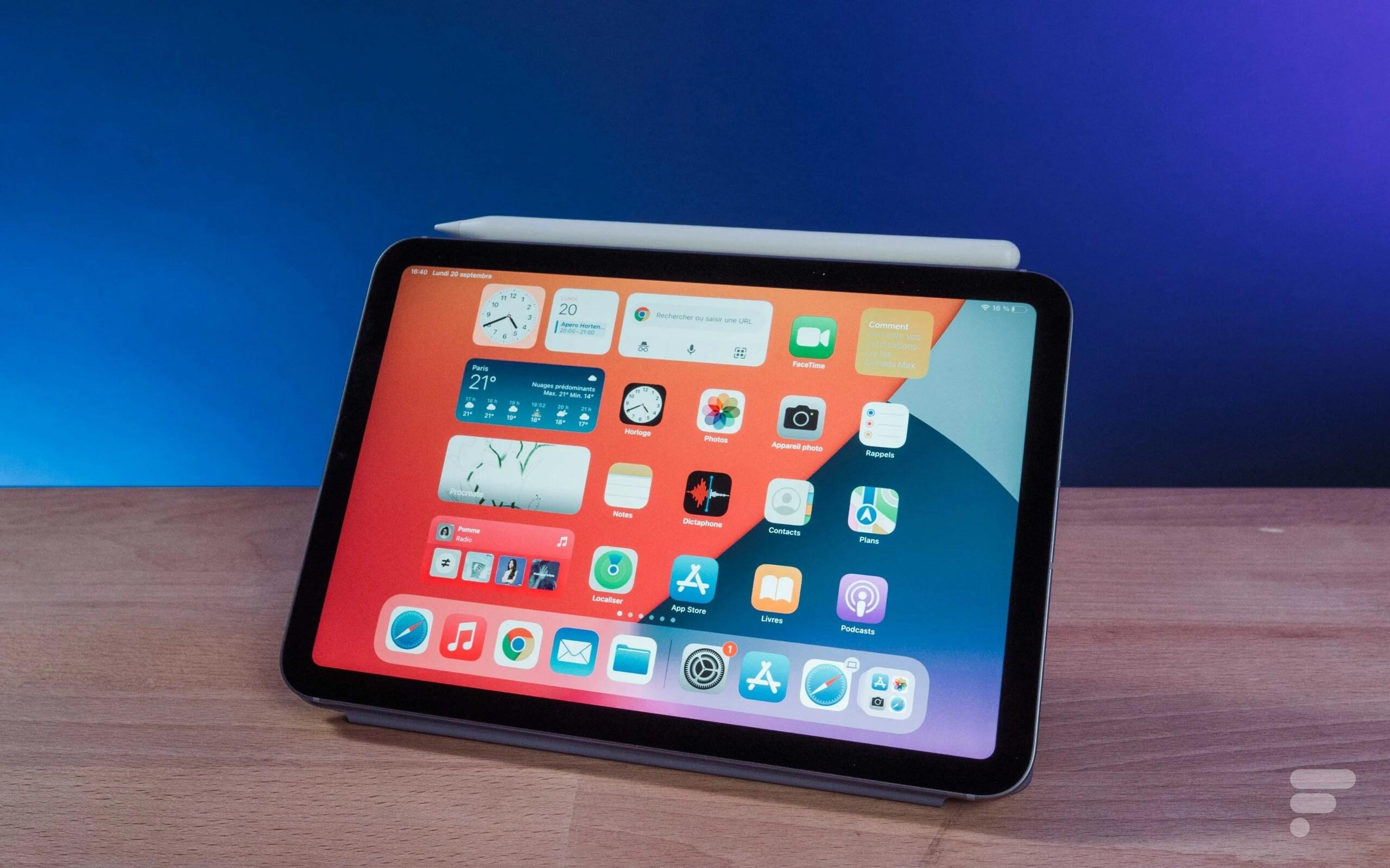 Test de l'iPad mini6 (2021): un Pro au creux de la main