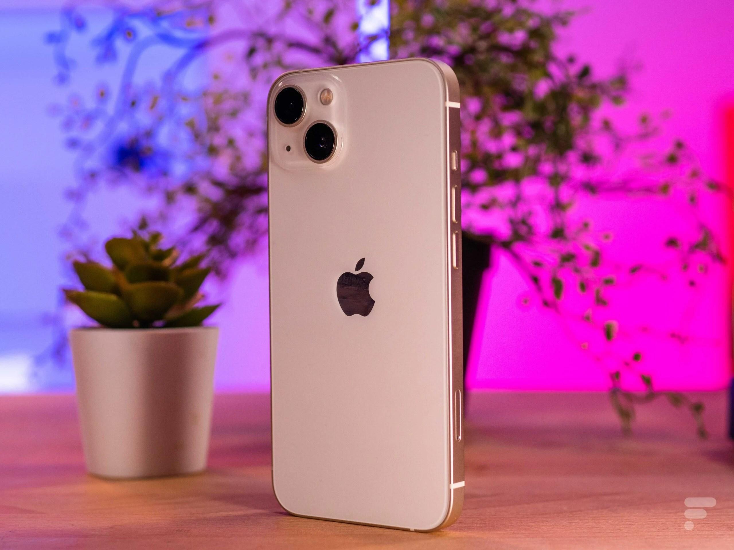 Grâce au forfait 5G 120 Go de SFR, obtenez l'iPhone 13 à 279 euros (+8€/mois)