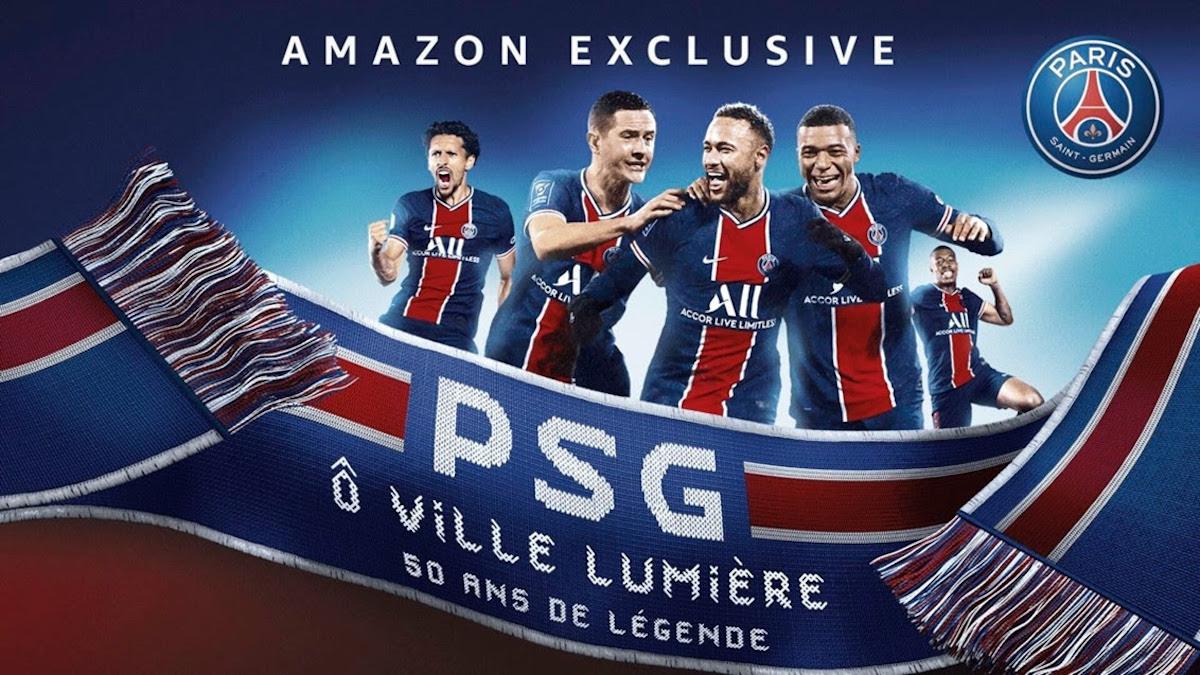 Amazon Prime Video en septembre : le PSG et les grandes histoires à l'honneur