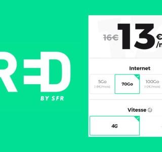 De 5 à 130 Go en 4G et 5G : RED casse les prix de ses forfaits jusqu'à la semaine prochaine